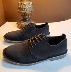 Bruno Marc New York  leather Suede Oxford shoes 7M